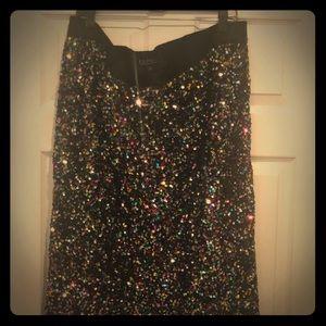 2 gorgeous glittery bodycon skirts